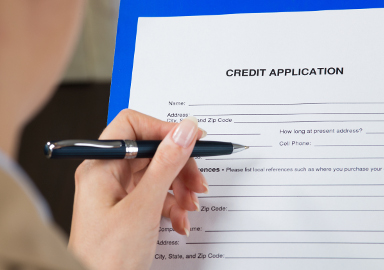 how to apply for credit terms